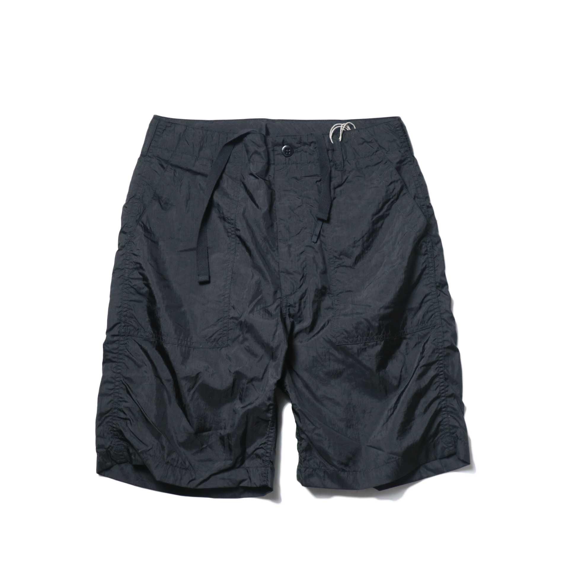 Engineered Garments / Fatigue Short -Micro Ripstop (Black)