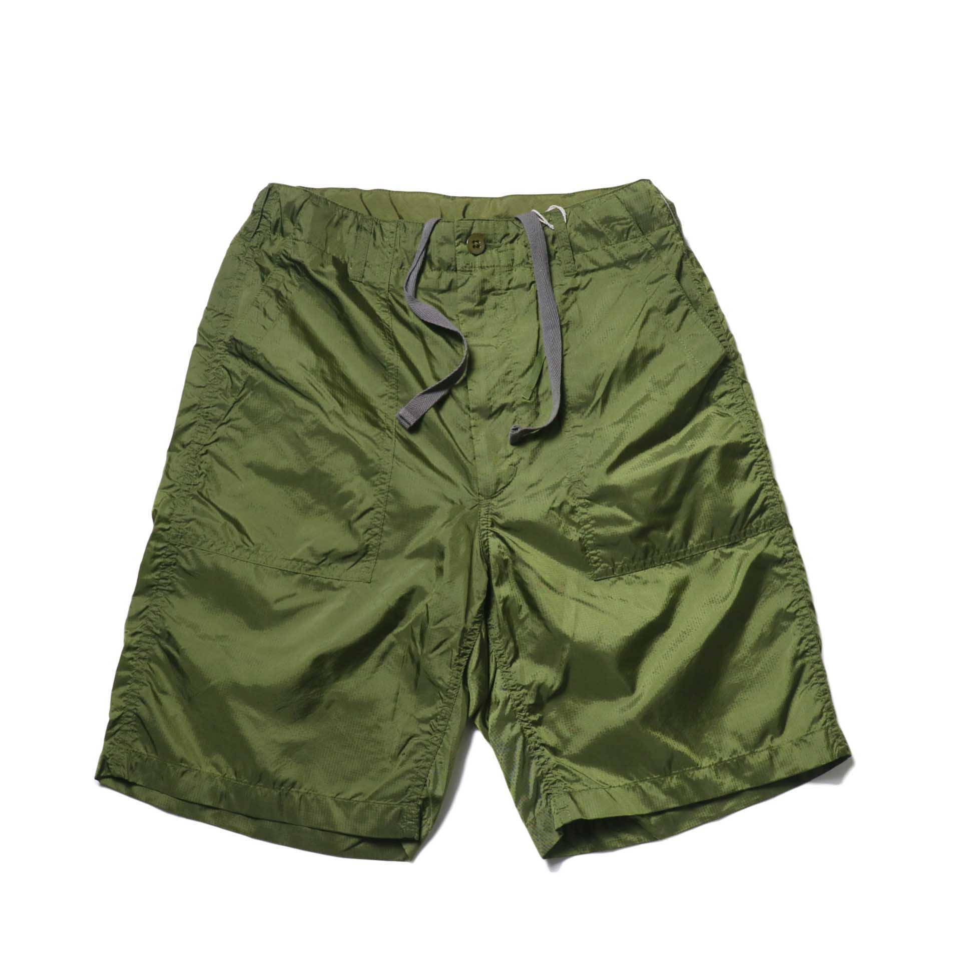 Engineered Garments / Fatigue Short -Micro Ripstop (Olive)正面