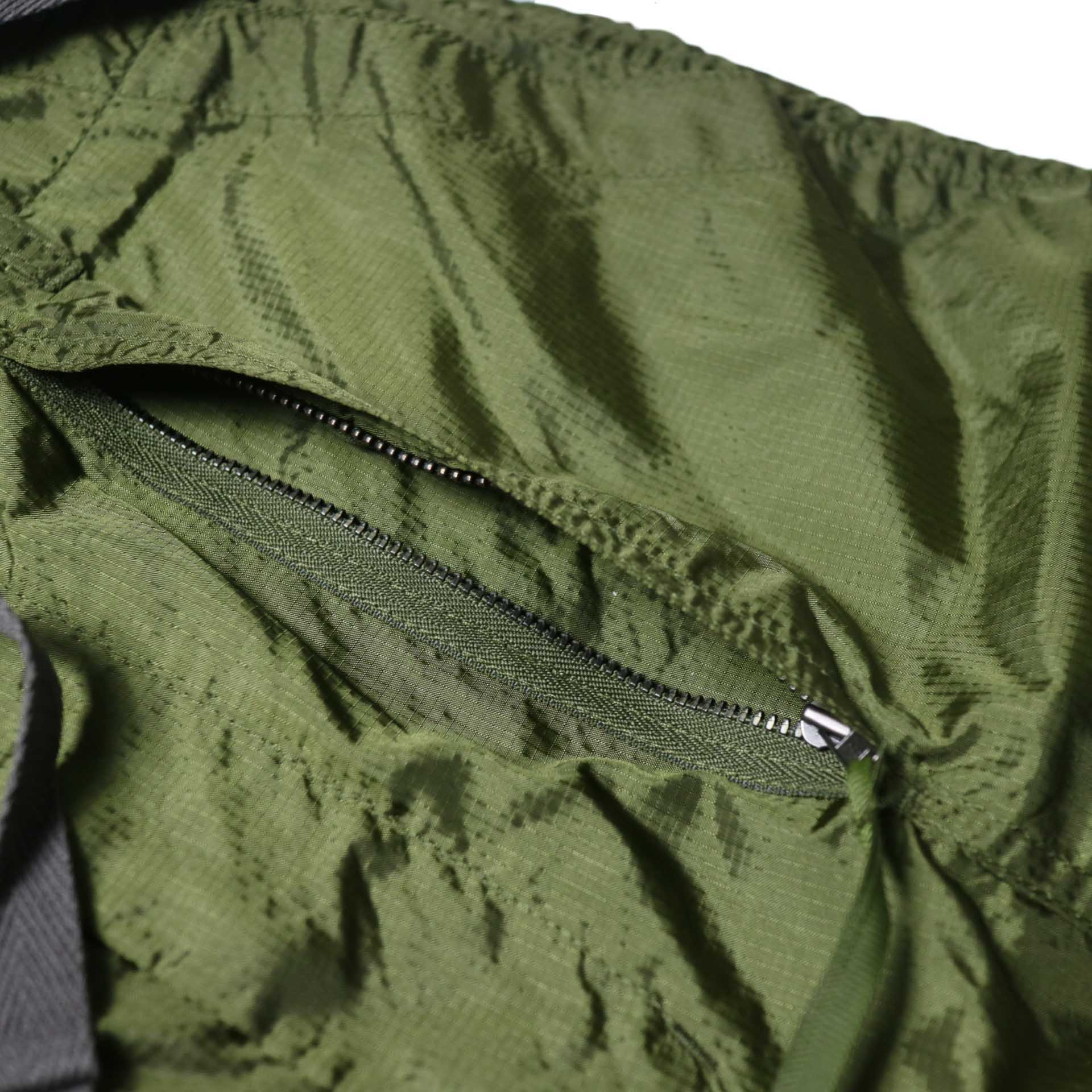 Engineered Garments / Fatigue Short -Micro Ripstop (Olive)隠しポケット