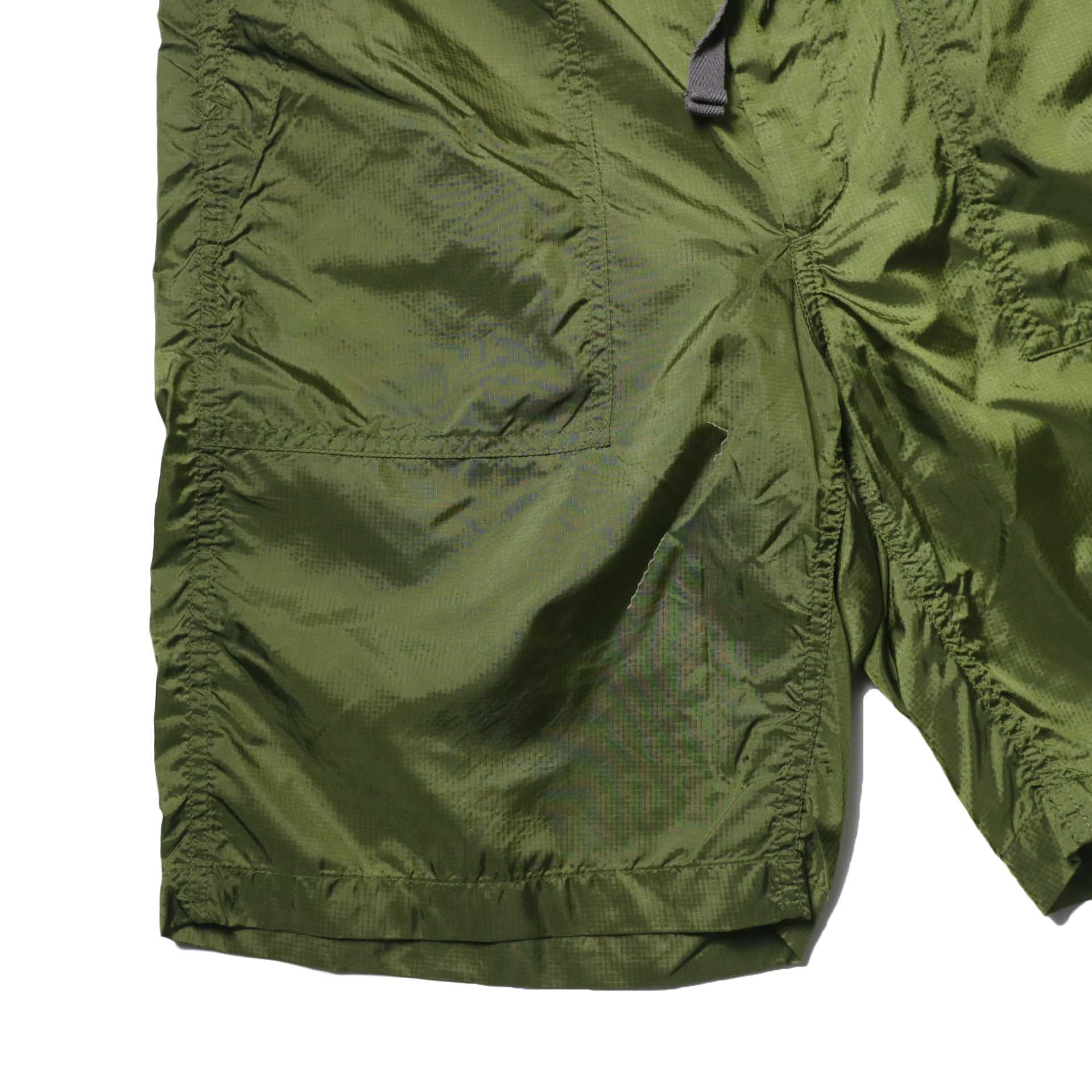 Engineered Garments / Fatigue Short -Micro Ripstop (Olive)裾