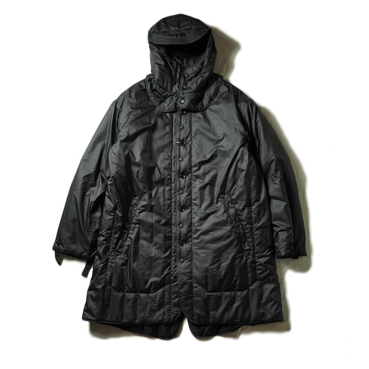 Engineered Garments / LINER JACKET - NYLON MICRO RIPSTOP (Black)