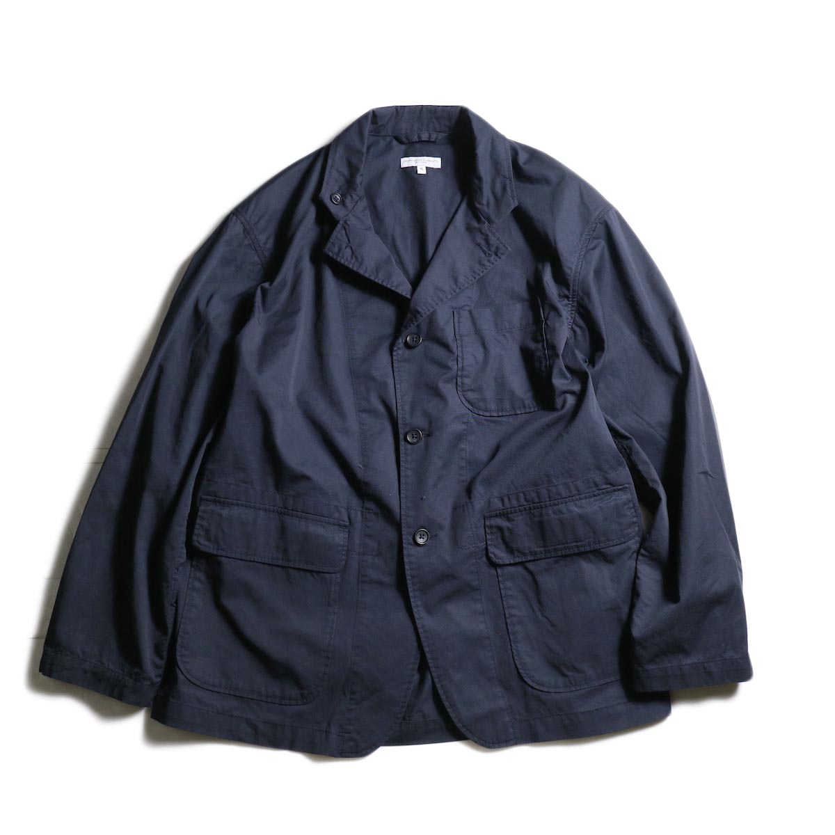 Engineered Garments / Loiter Jacket -High Count Twill (Dk.Navy)