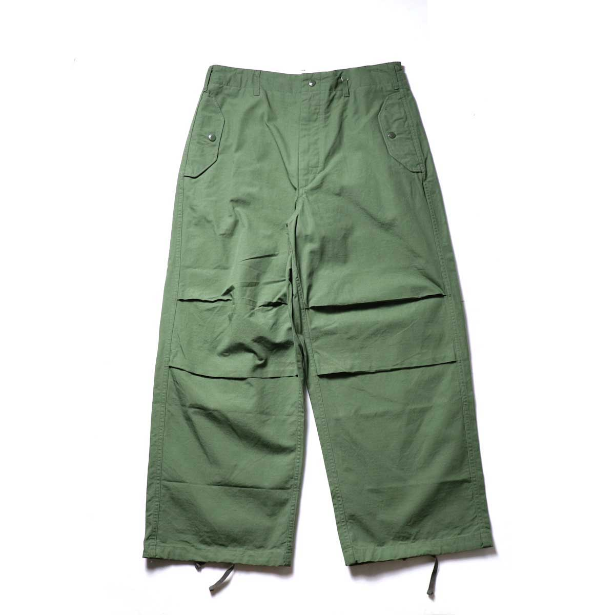 Engineered Garments / Over Pant -Cotton Ripstop正面