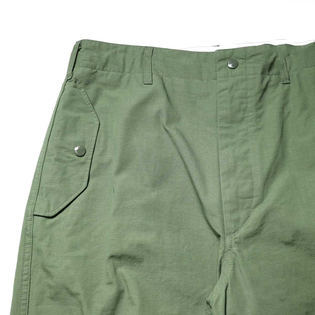 Engineered Garments / Over Pant -Cotton Ripstopポケット