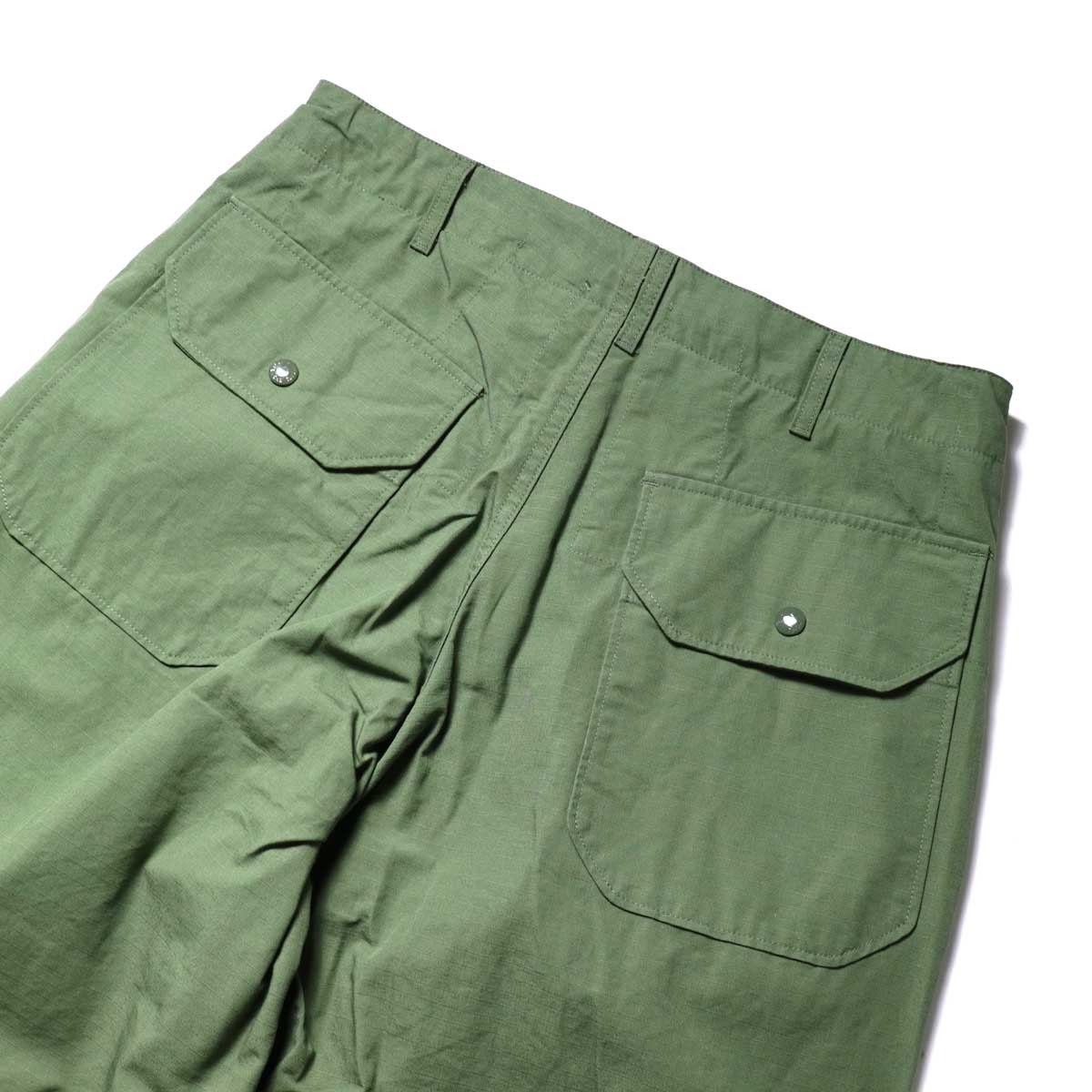 Engineered Garments / Over Pant -Cotton Ripstop ヒップポケット