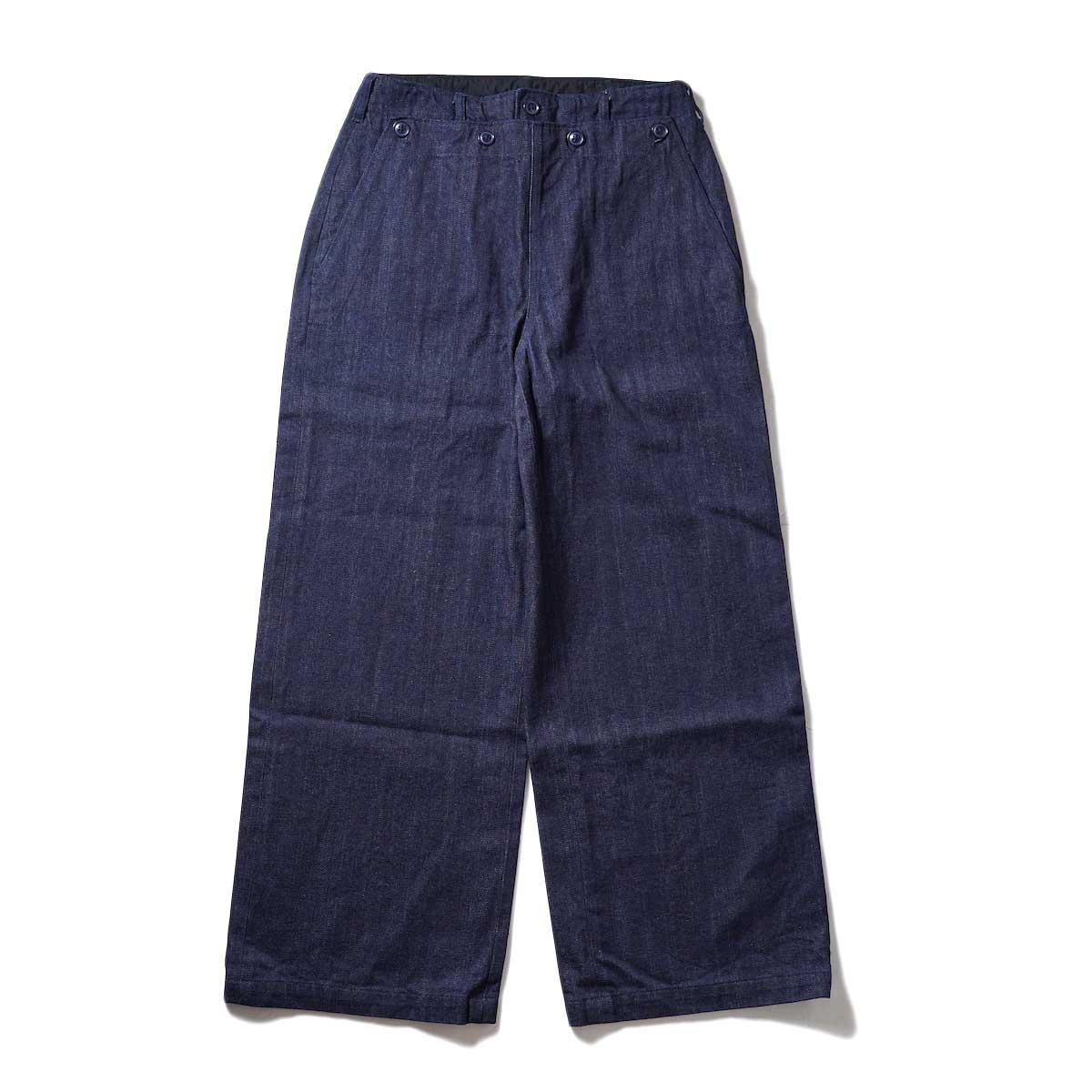 ENGINEERED GARMENTS / Sailor Pant (Indigo) 正面