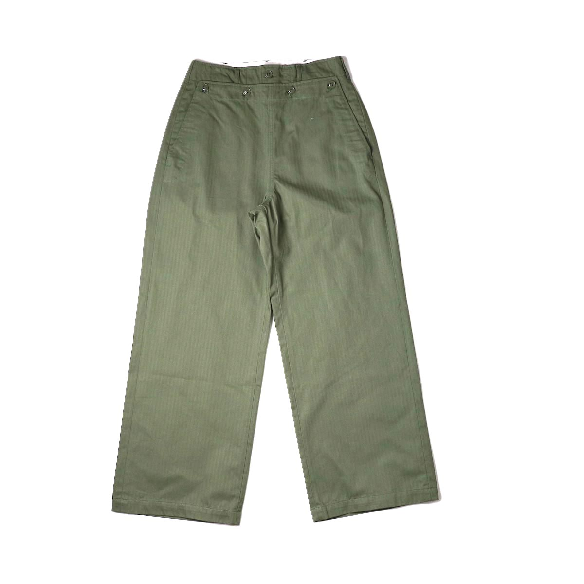 ENGINEERED GARMENTS / Sailor Pant (olive) 正面