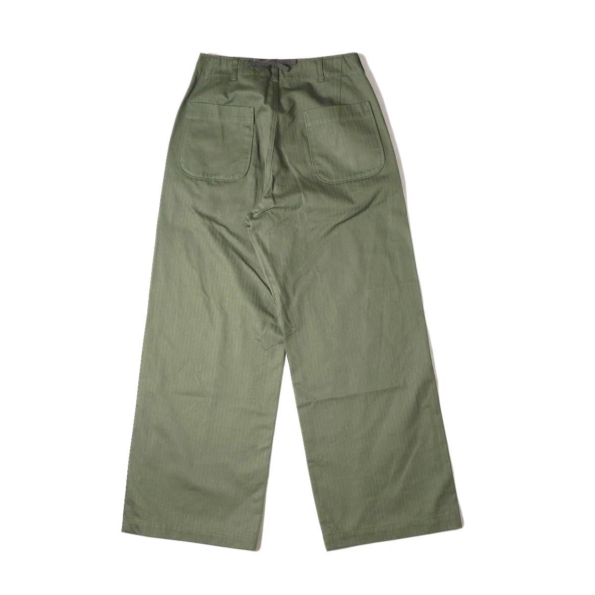 ENGINEERED GARMENTS / Sailor Pant (olive) 背面
