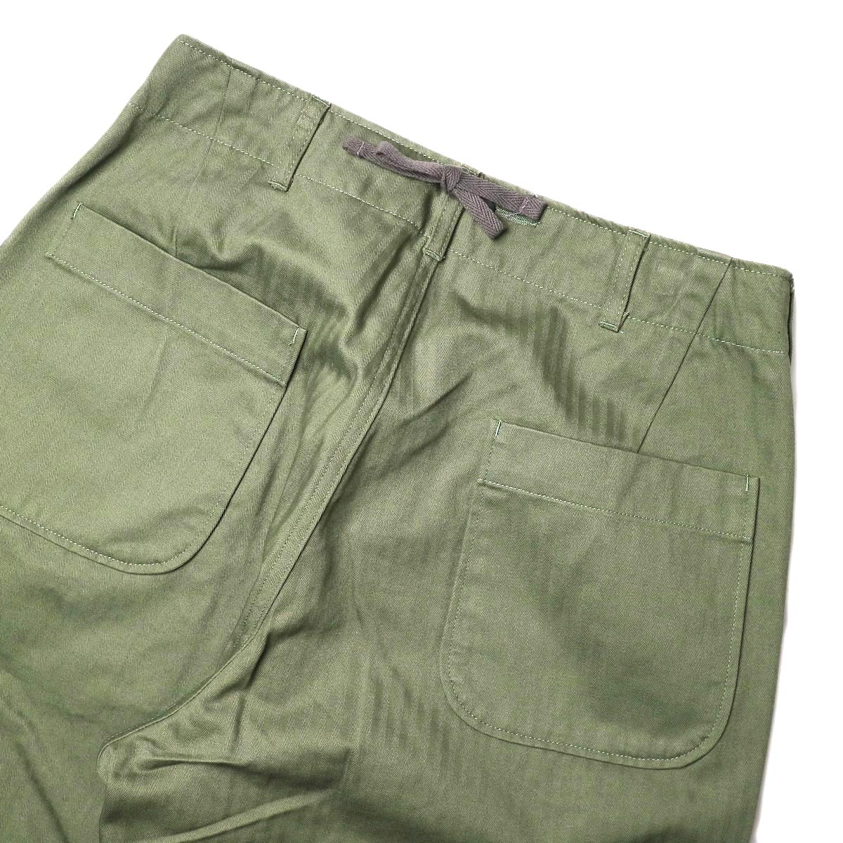 ENGINEERED GARMENTS / Sailor Pant (olive) 背面アップ