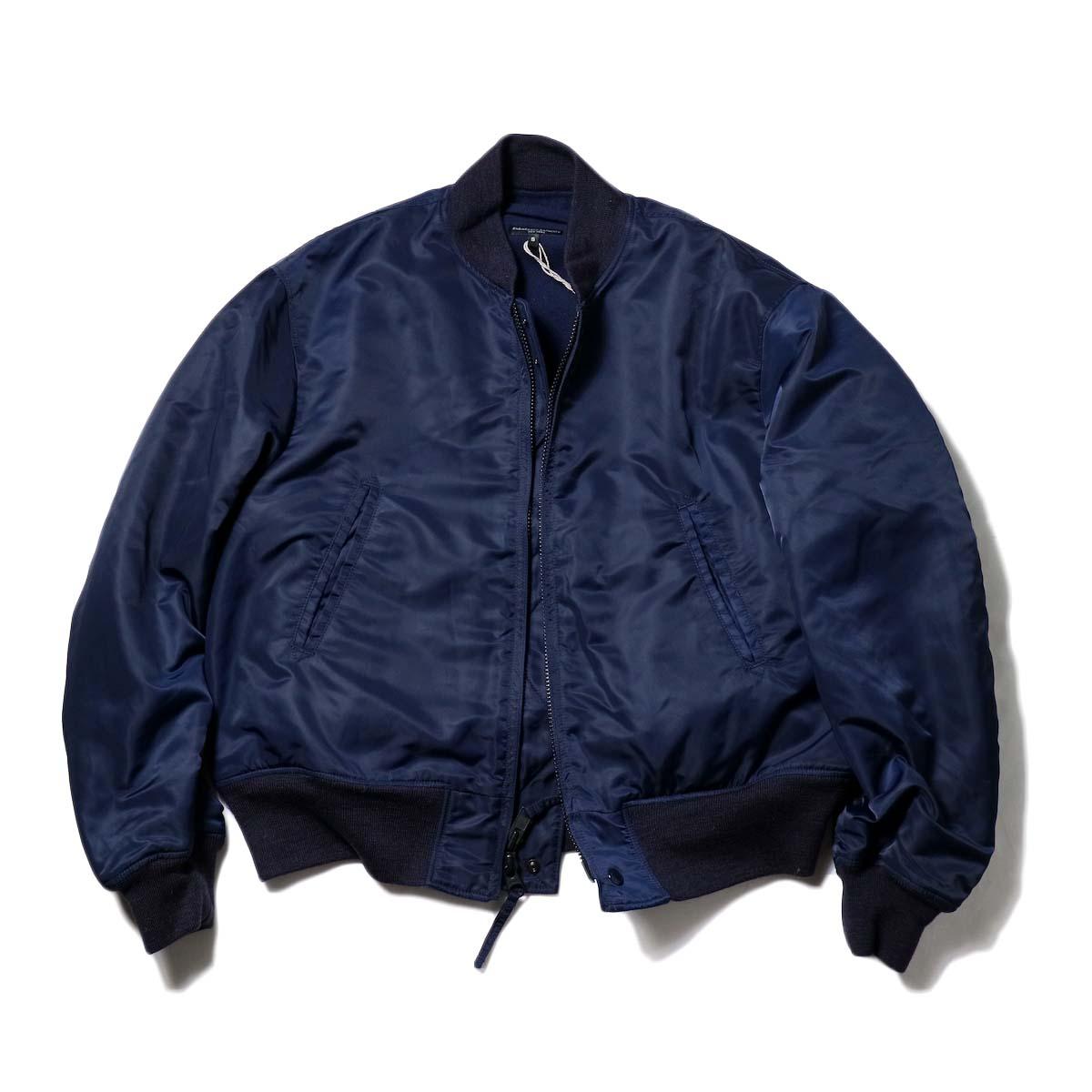 Engineered Garments / SVR Jacket - Flight Satin (Navy)