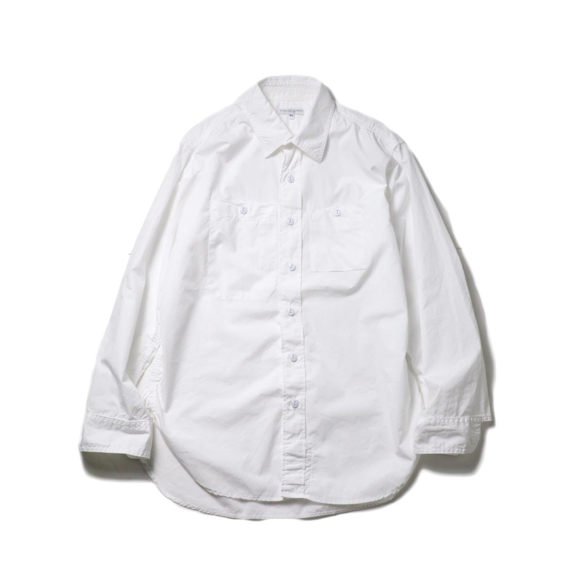 Engineered Garments / Work Shirt -100's 2Ply Broadcloth (White)