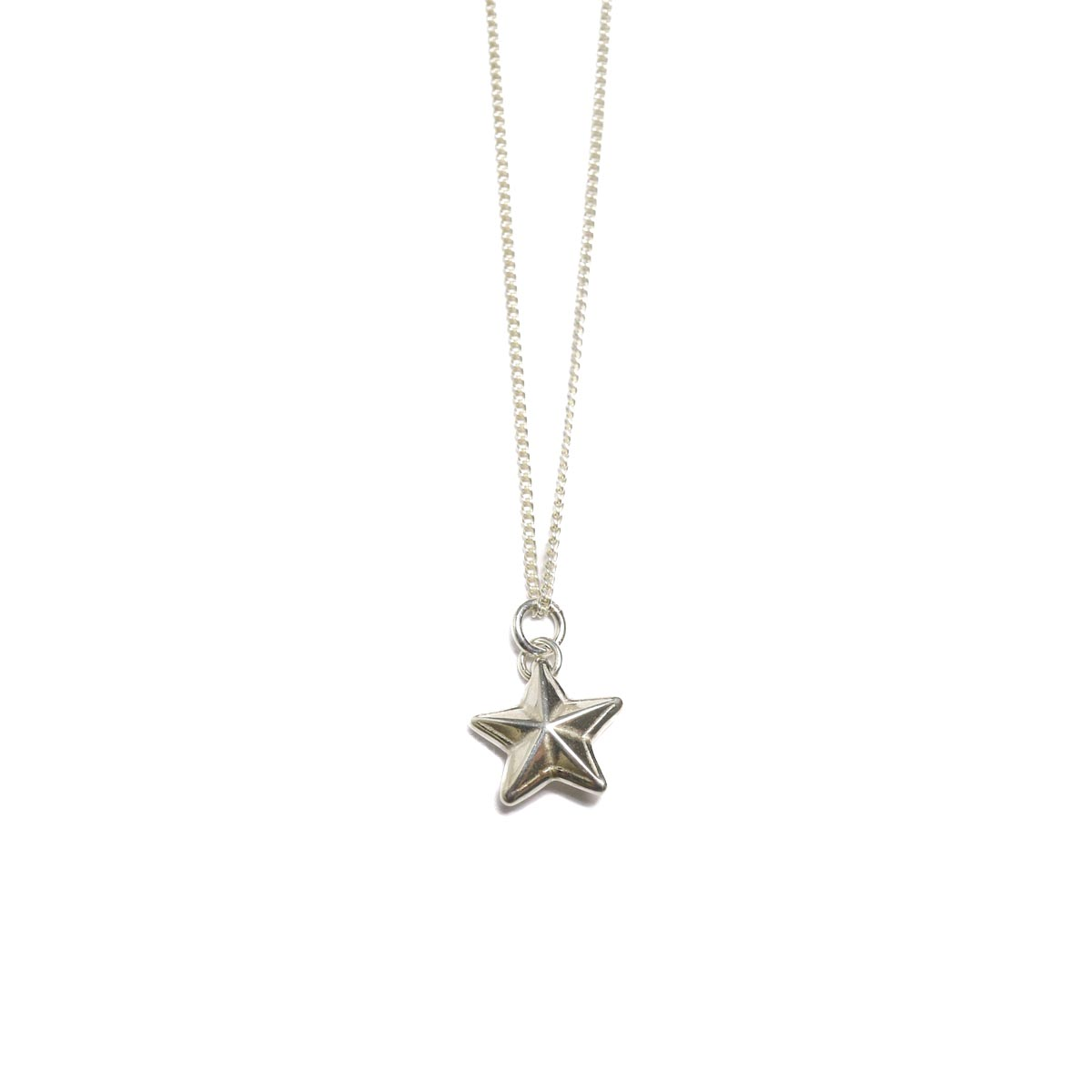END / Rim Star Necklace 正面