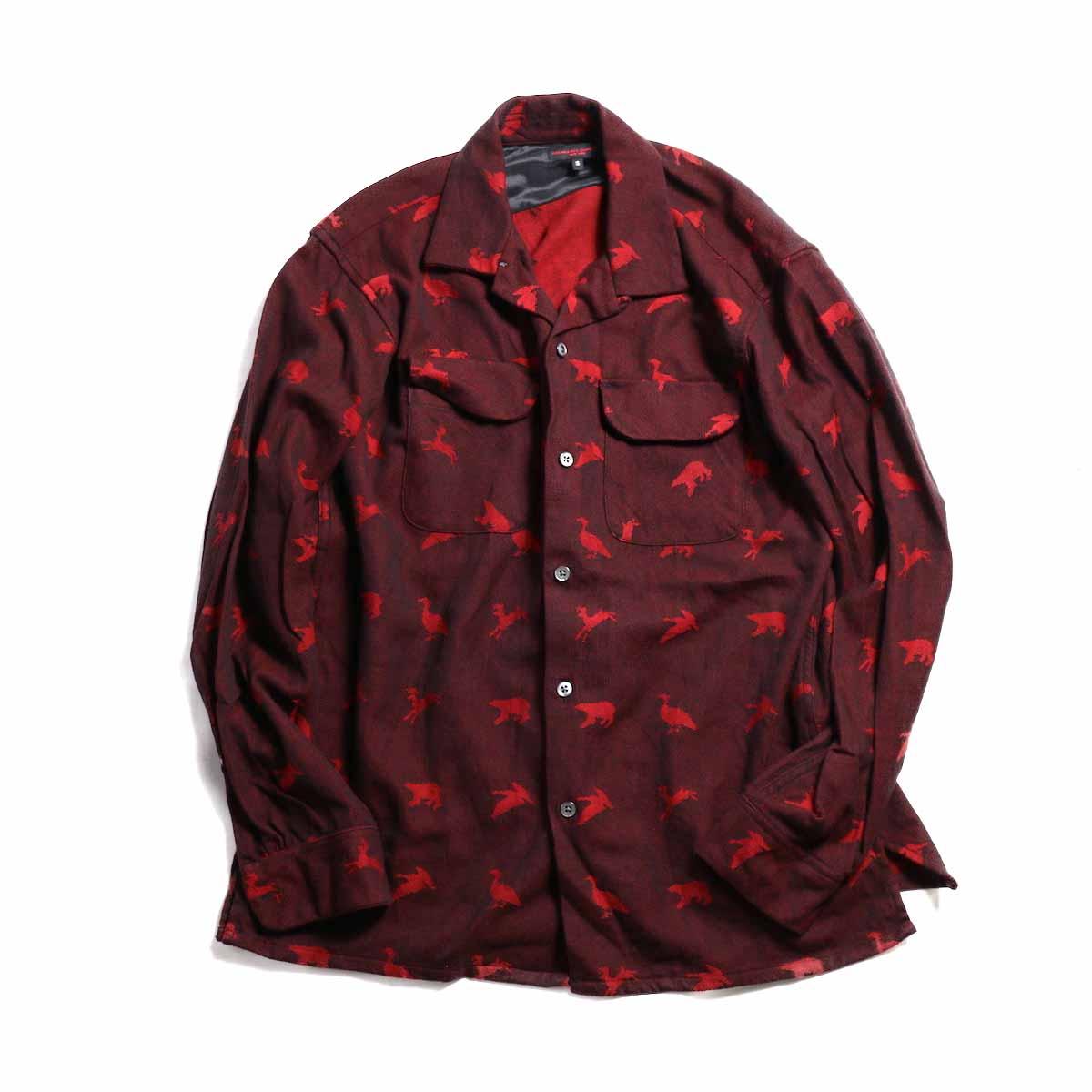 Engineered Garments / Classic Shirt-Game Animal Jacquard