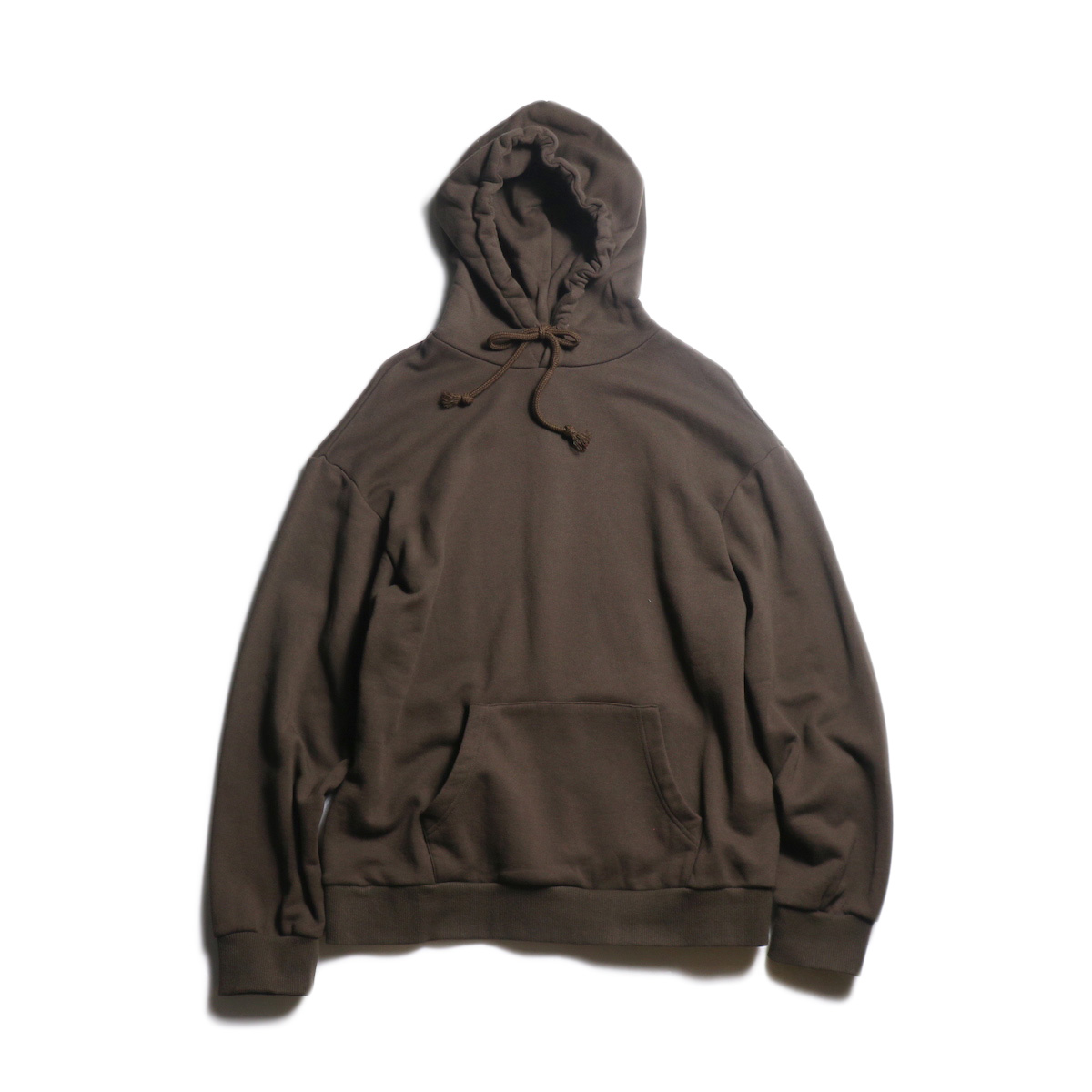 EVCON / BASIC SWEAT PARKA (D.Brown)