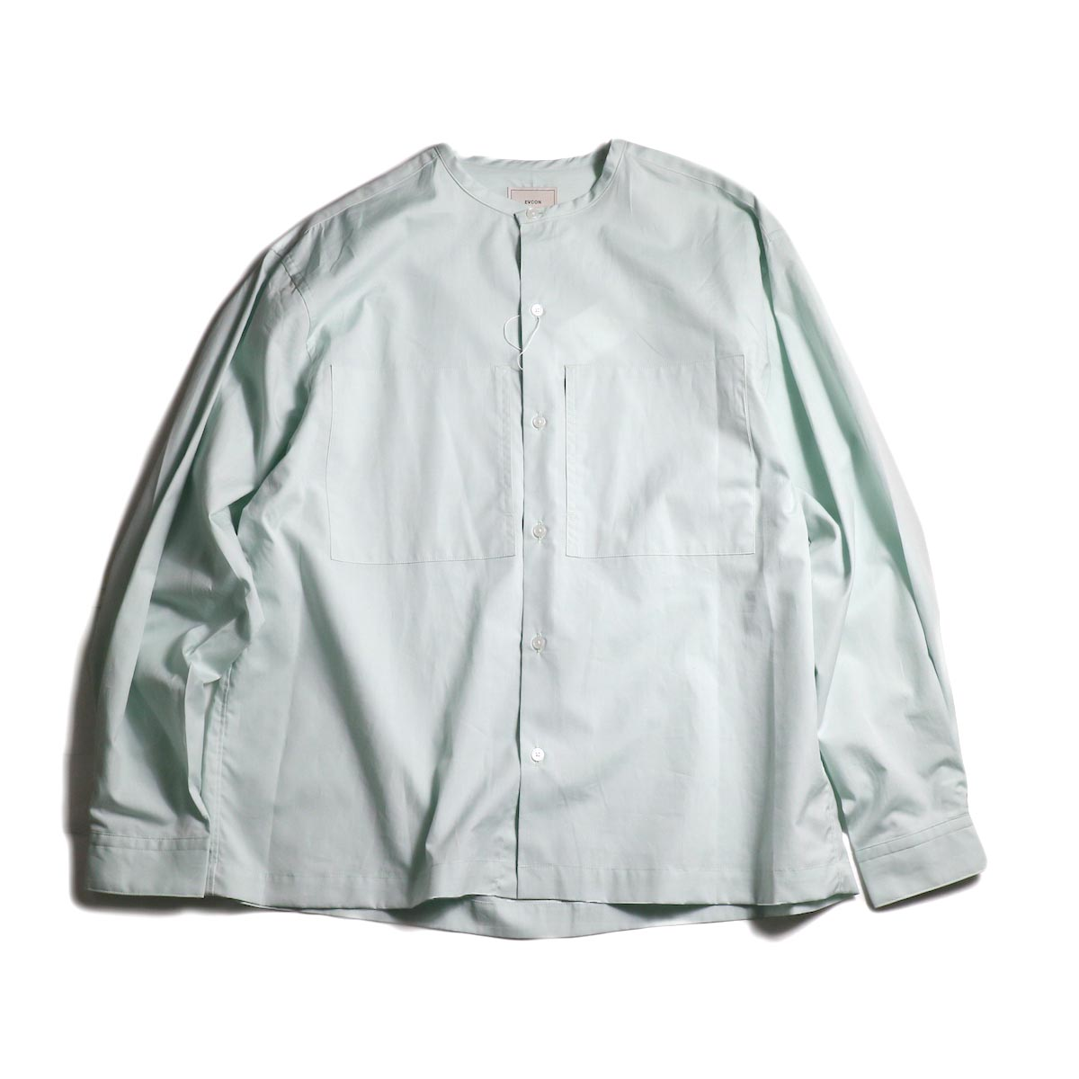 EVCON / NO COLLAR SHIRT (Mint)