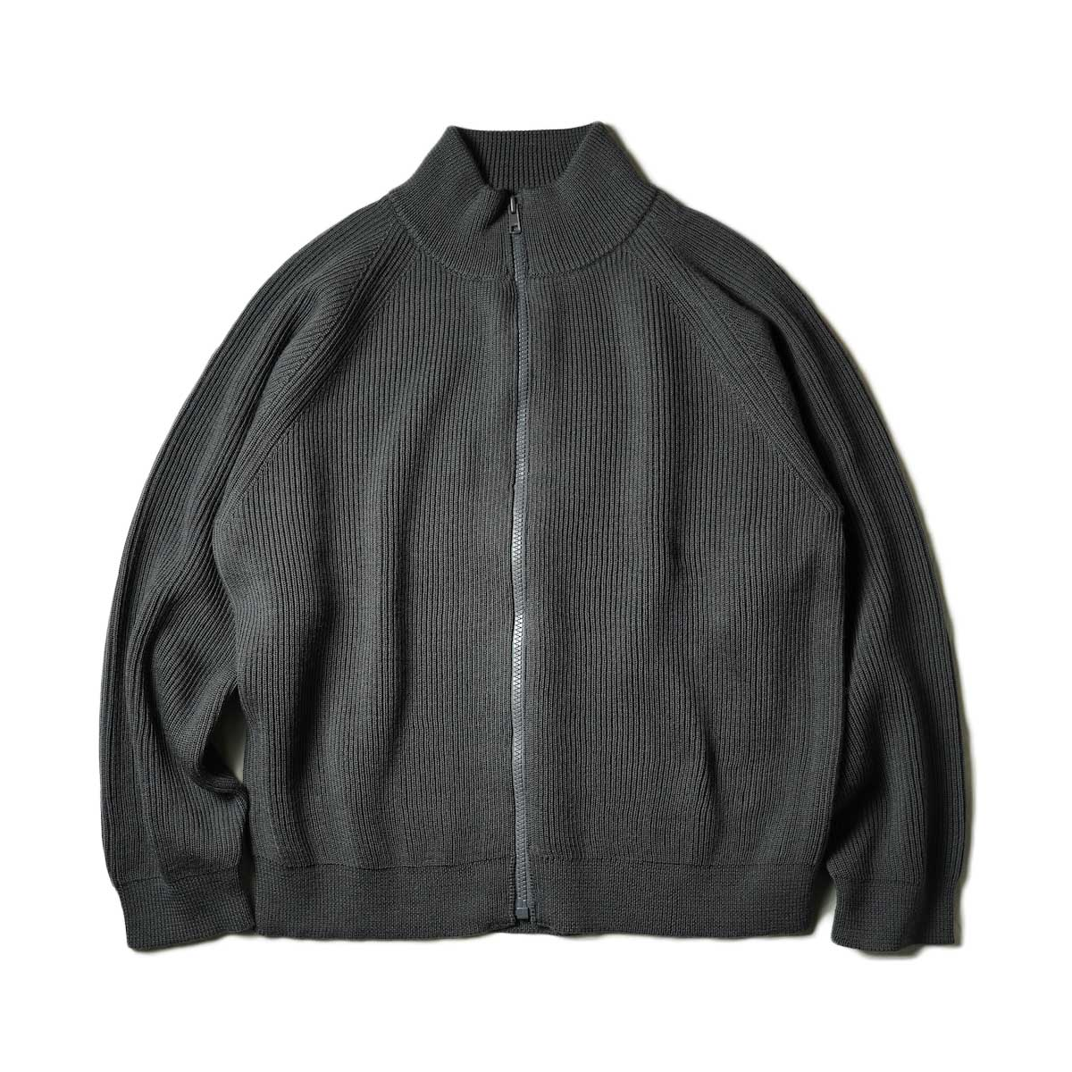 EVCON / DRIVERS SWEATER (Charcoal) 正面