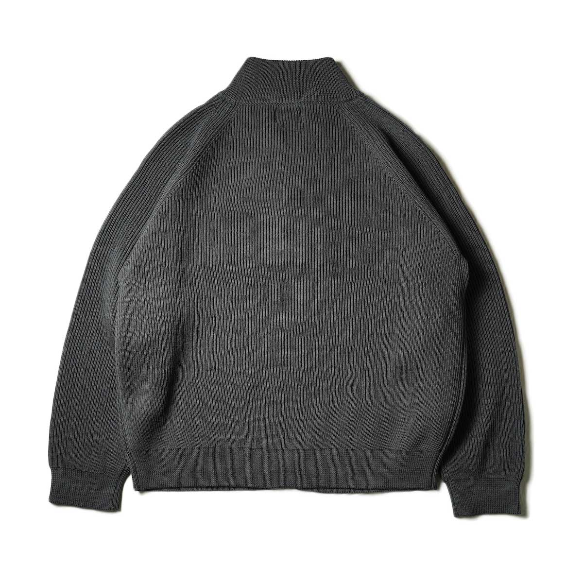 EVCON / DRIVERS SWEATER (Charcoal) 背面