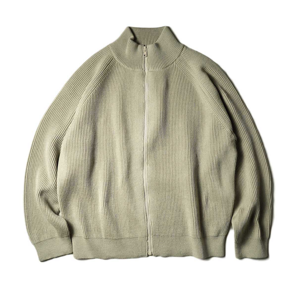 EVCON / DRIVERS SWEATER (Oatmeal) 正面