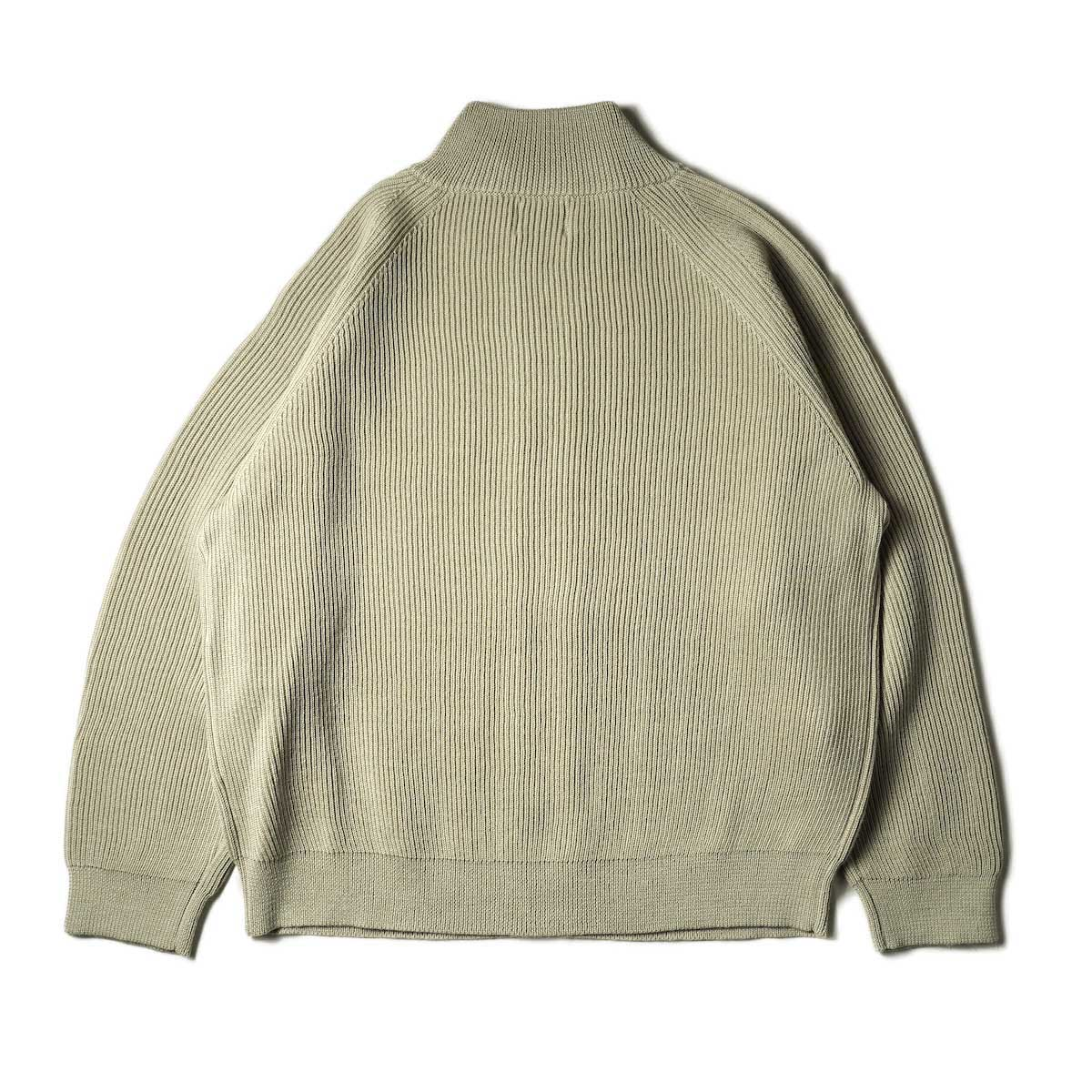 EVCON / DRIVERS SWEATER (Oatmeal) 背面