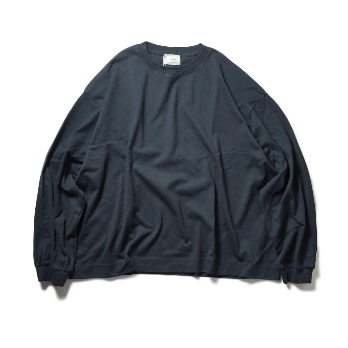 EVCON / WIDE L/S T-Shirt (Black)