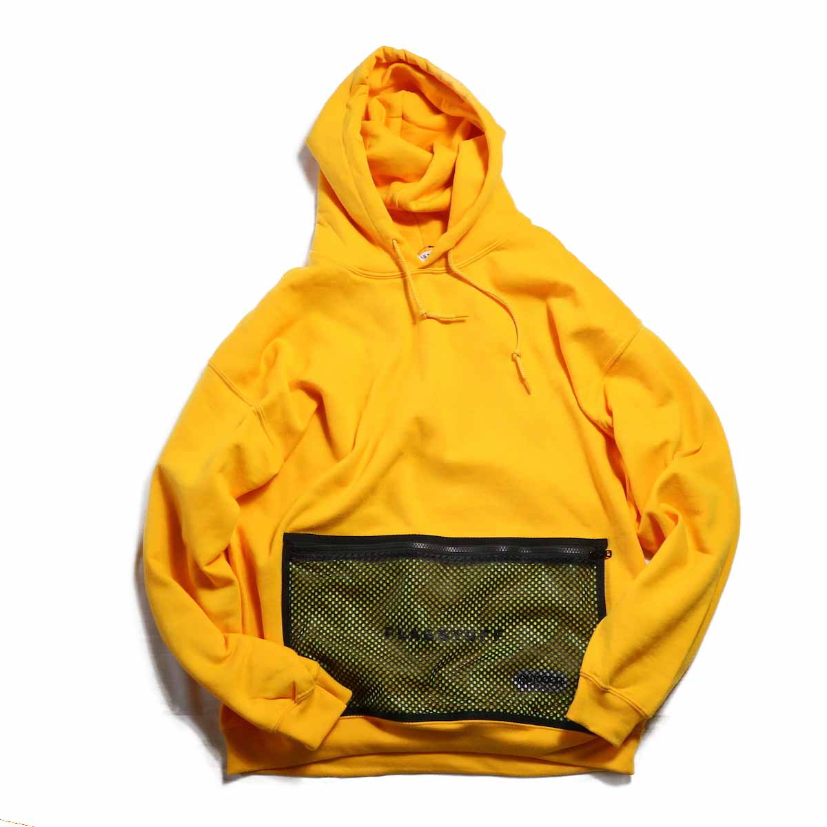 F-LAGSTUF-F / OUTDOOR PRODUCTS L/S HOODIE -YELLOW