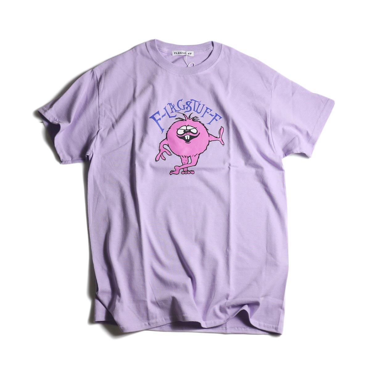 """F-LAGSTUF-F  / """"MONSTER"""" Tee (Purple)"""