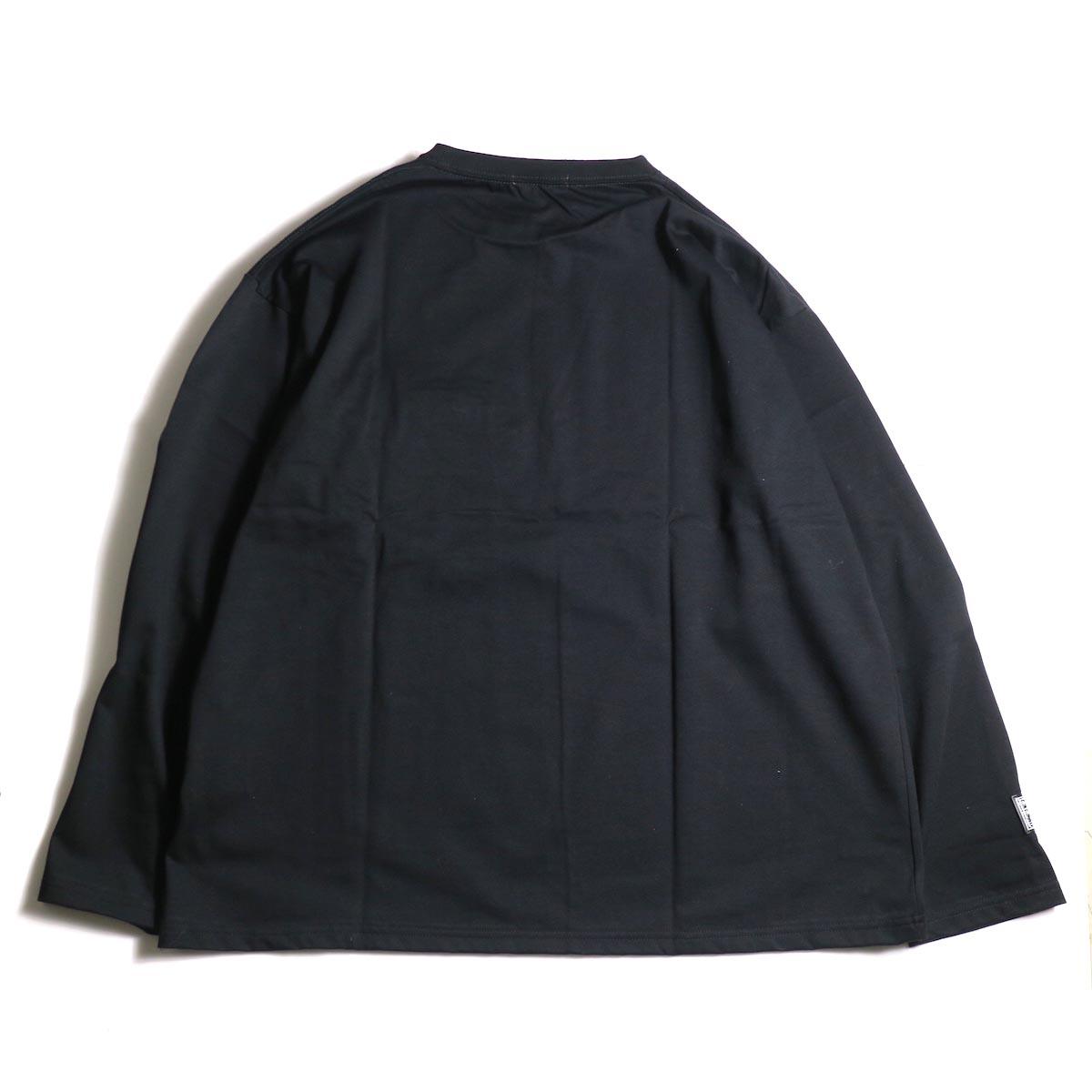 F-LAGSTUF-F  / ZIP BIG L/S Tee (Black)背面