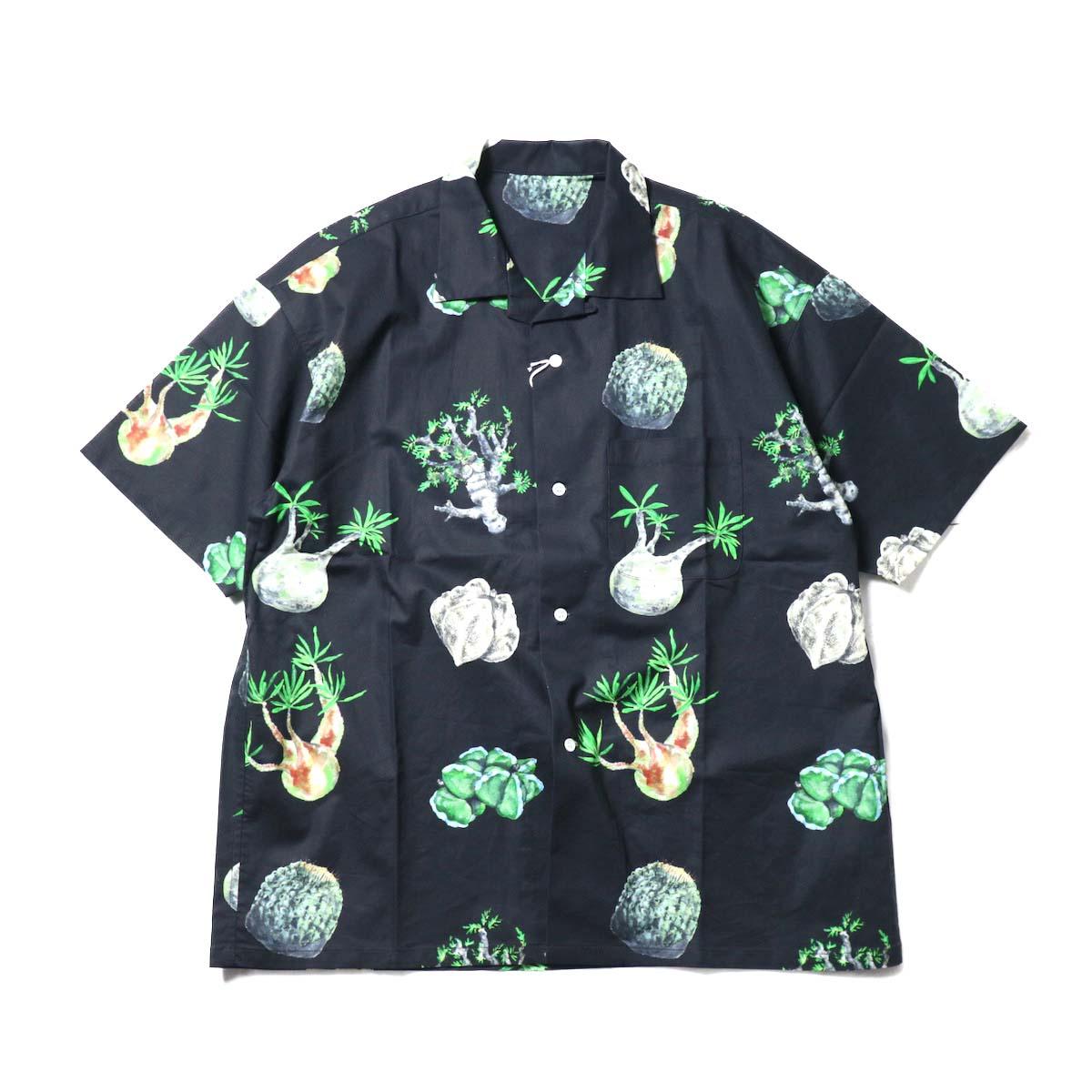 "F-LAGSTUF-F / ""Cactus"" S/S Shirts (Black)"