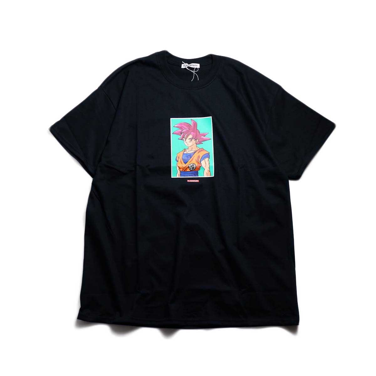 "F-LAGSTUF-F × DRAGON BALL / ""GOKU"" Tee -Black"