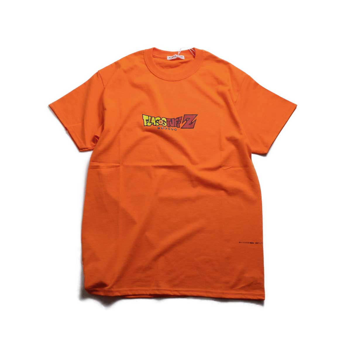 "F-LAGSTUF-F × DRAGON BALL / ""F-LAGSTUF-F Z"" Tee -Orange"