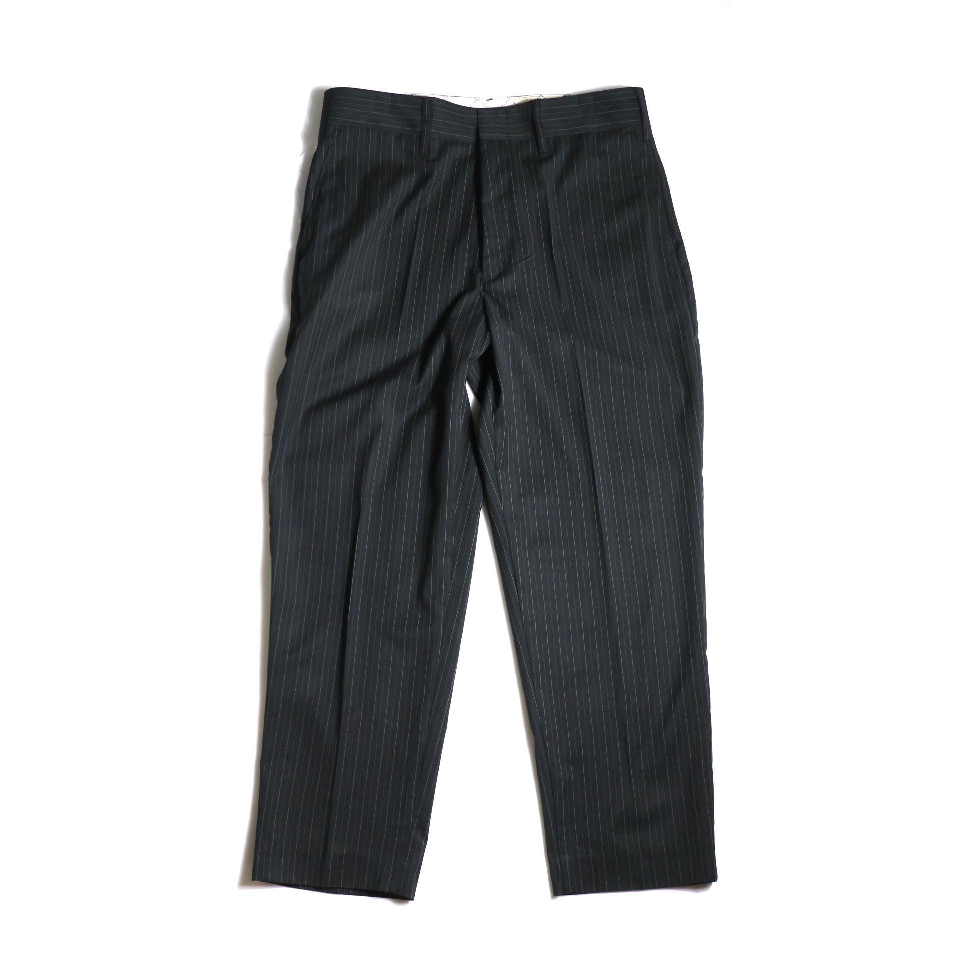 F-LAGSTUF-F  / LOOSE ST PANTS (Black Stripe)正面