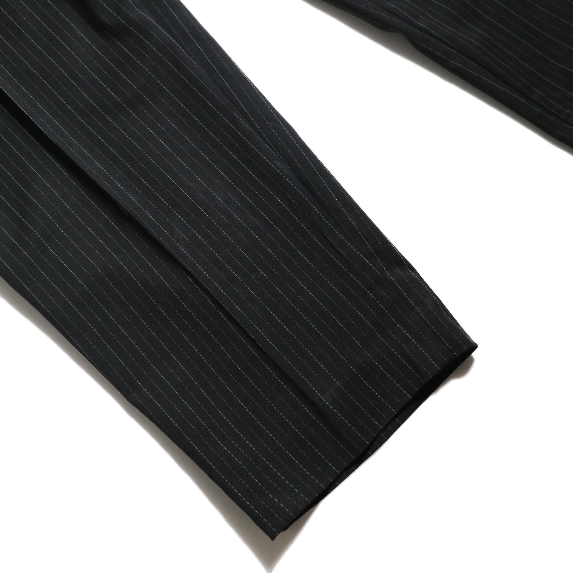 F-LAGSTUF-F  / LOOSE ST PANTS (Black Stripe)裾