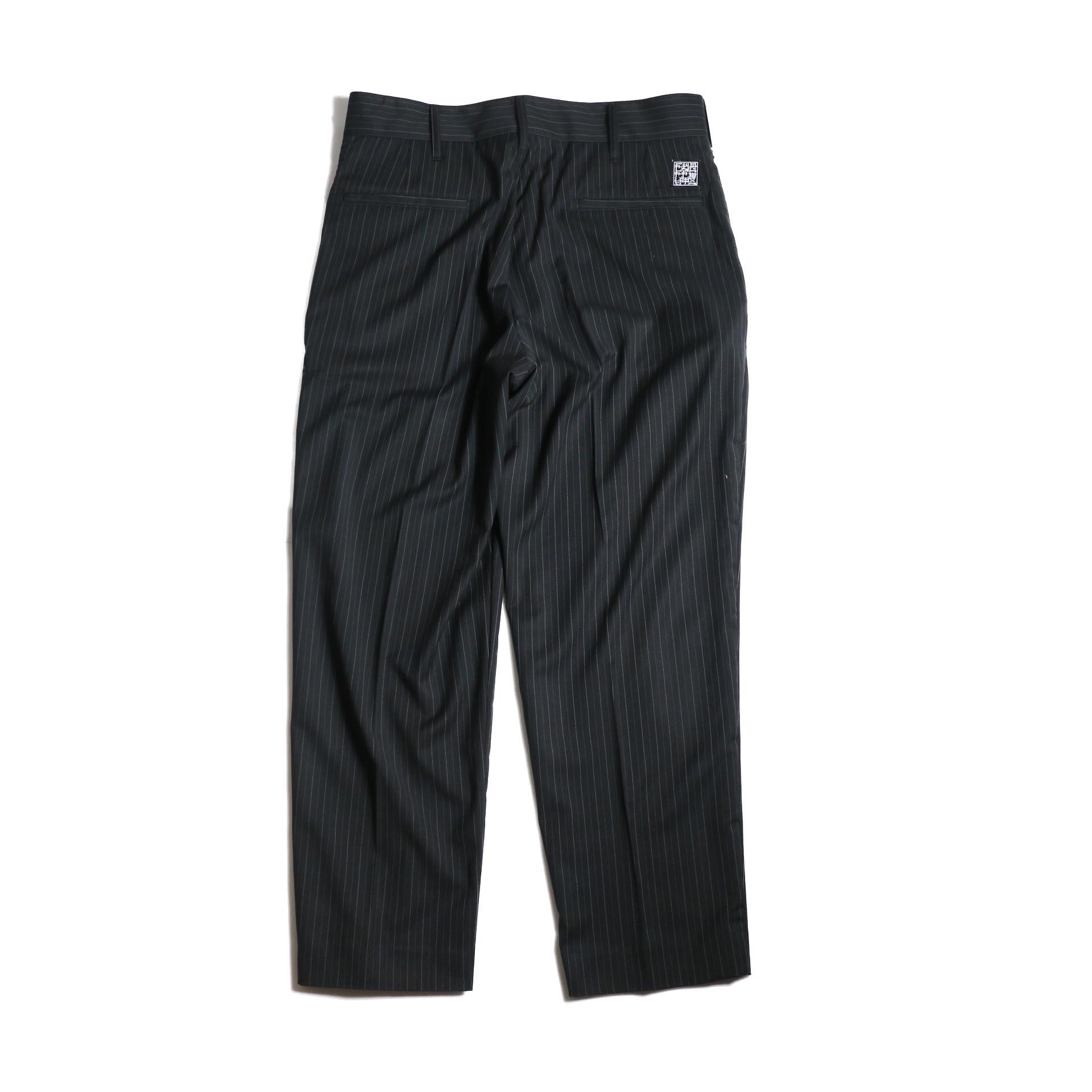 F-LAGSTUF-F  / LOOSE ST PANTS (Black Stripe)背面