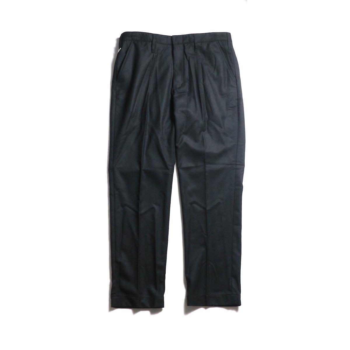 F-LAGSTUF-F  / ST PANTS(WOOL) -Black