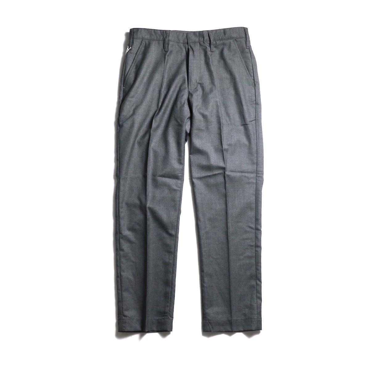 F-LAGSTUF-F  / ST PANTS(WOOL) -Gray