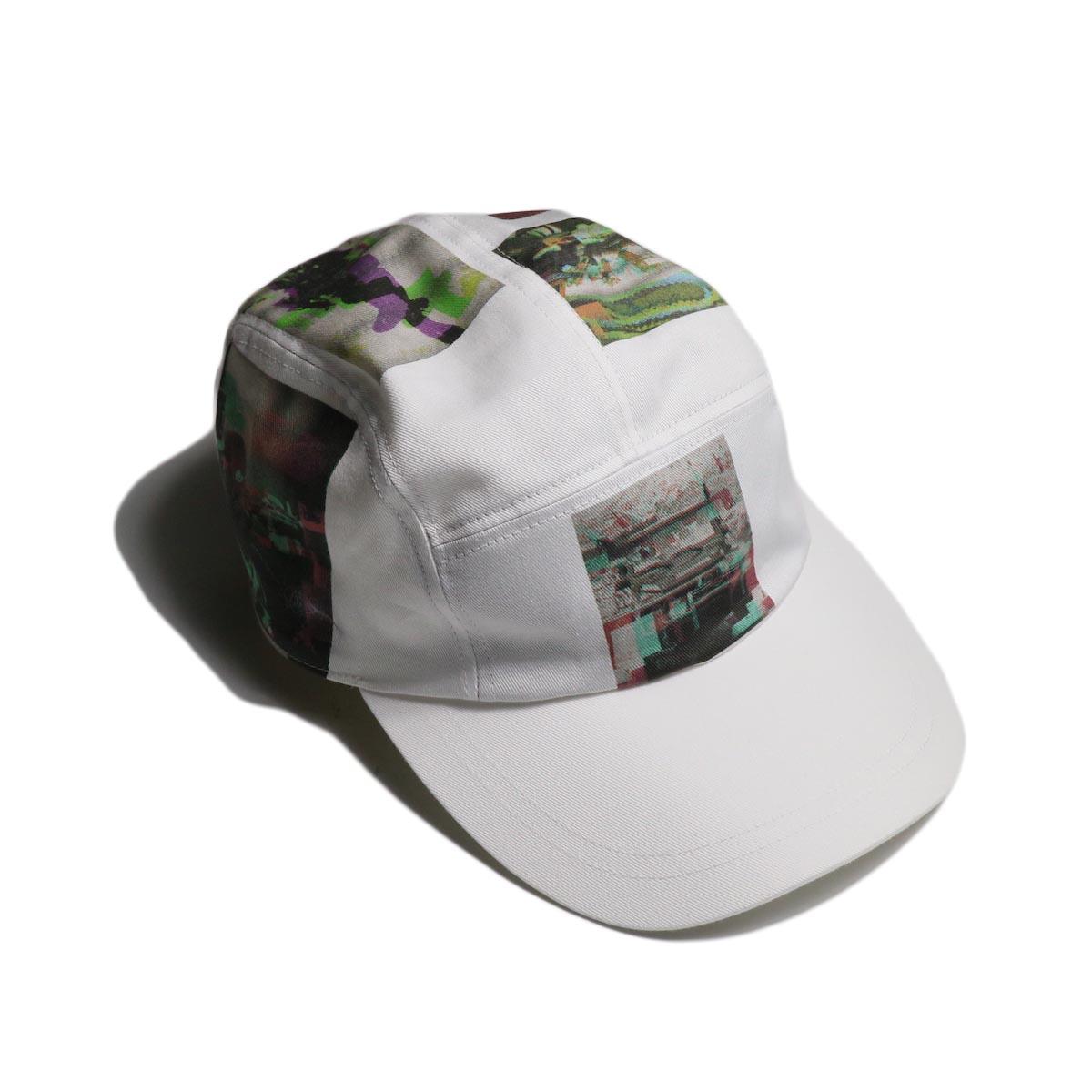 "F-LAGSTUF-F / ""MULTI PRINT JET CAP"" -White"
