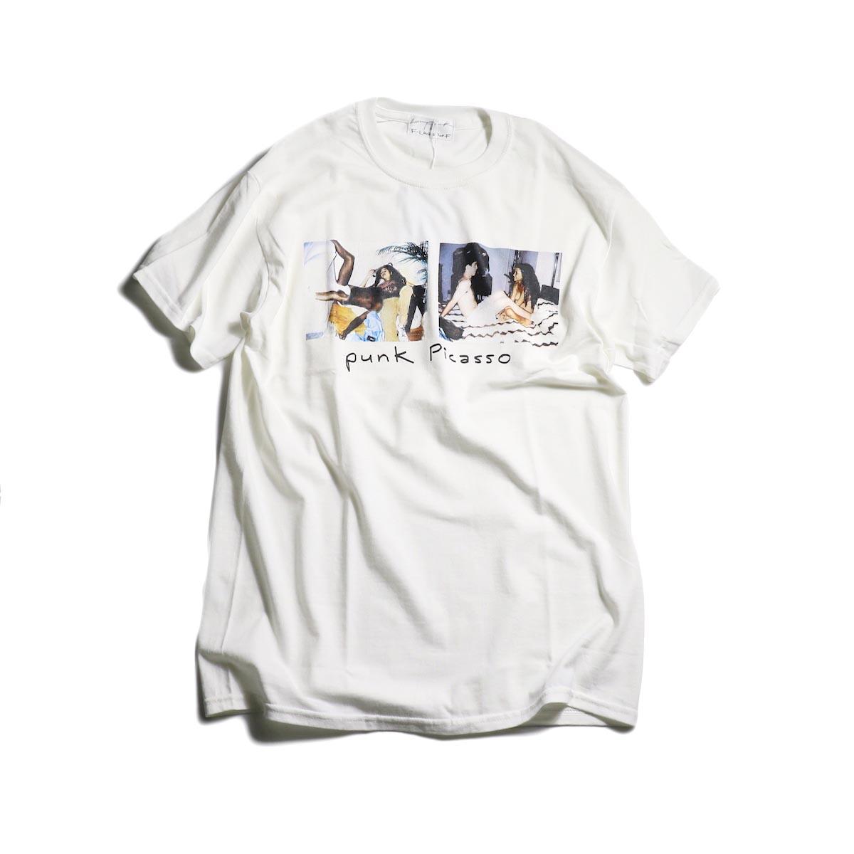 F-LAGSTUF-F × Larry Clark  / Tee 2 -White