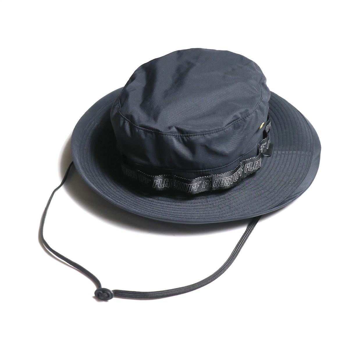 """F-LAGSTUF-F / """"Safari HAT"""" -Black"""