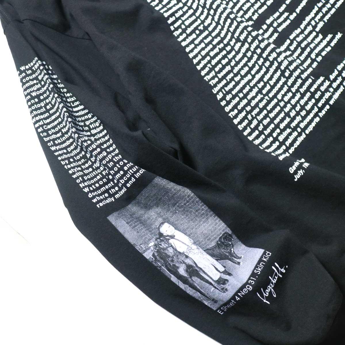 F-LAGSTUF-F / L/S TEE STYLE3 (Black)右袖
