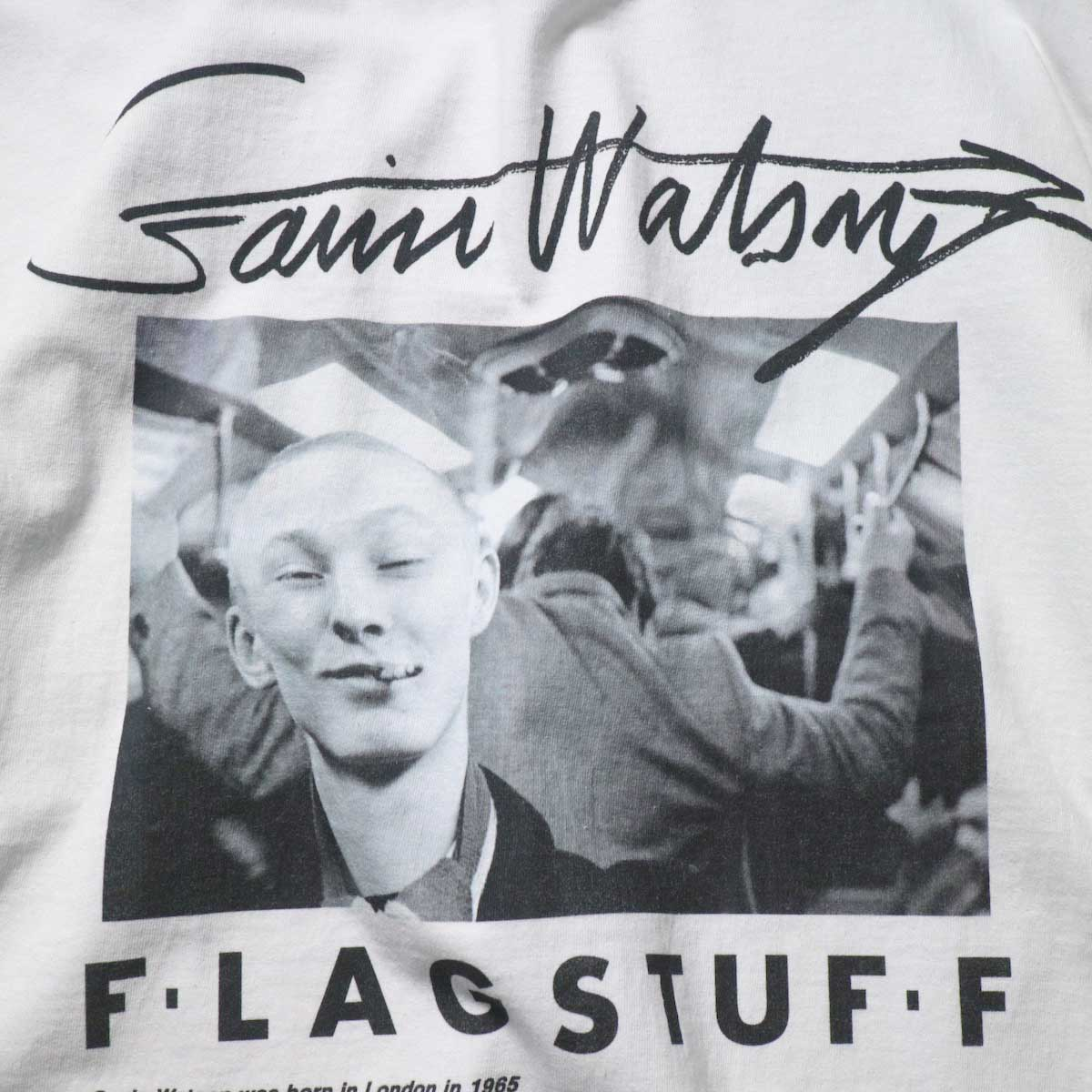 F-LAGSTUF-F / TEE STYLE2 (White)プリント