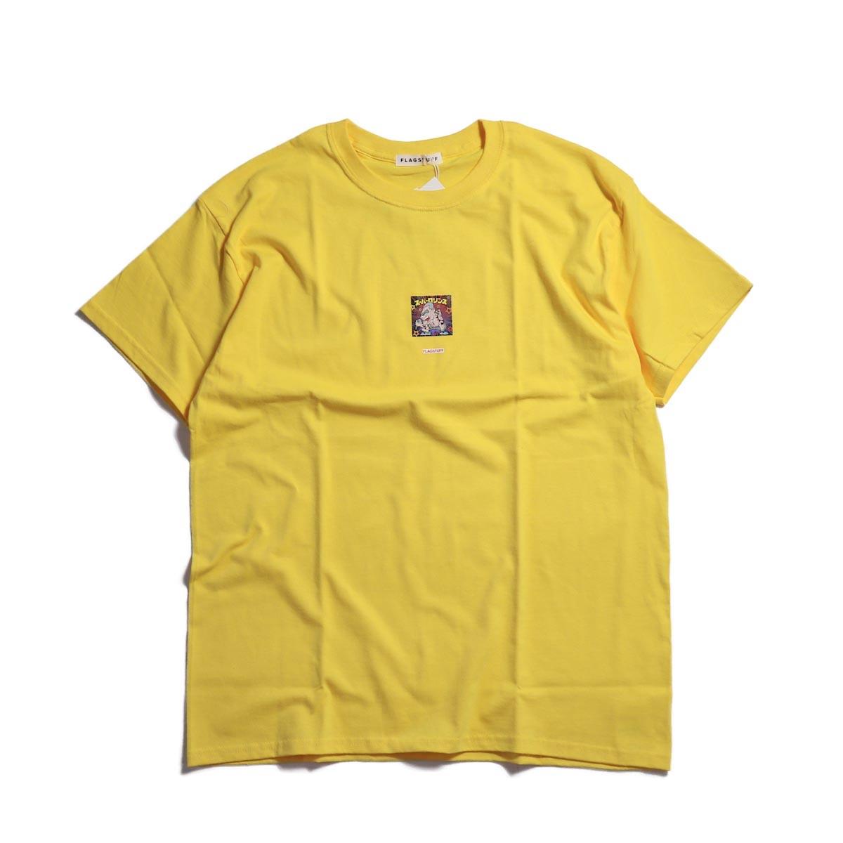 "F-LAGSTUF-F / ""Super Rollins"" Tee -Yellow"