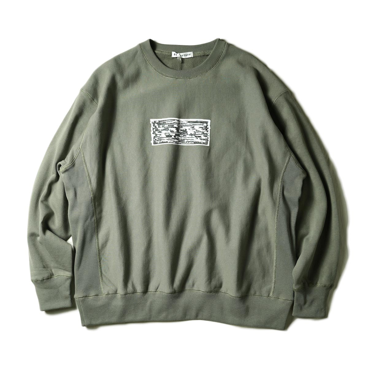 "F-LAGSTUF-F / ""TWO DOLLARS"" SWEAT (Army Green)"