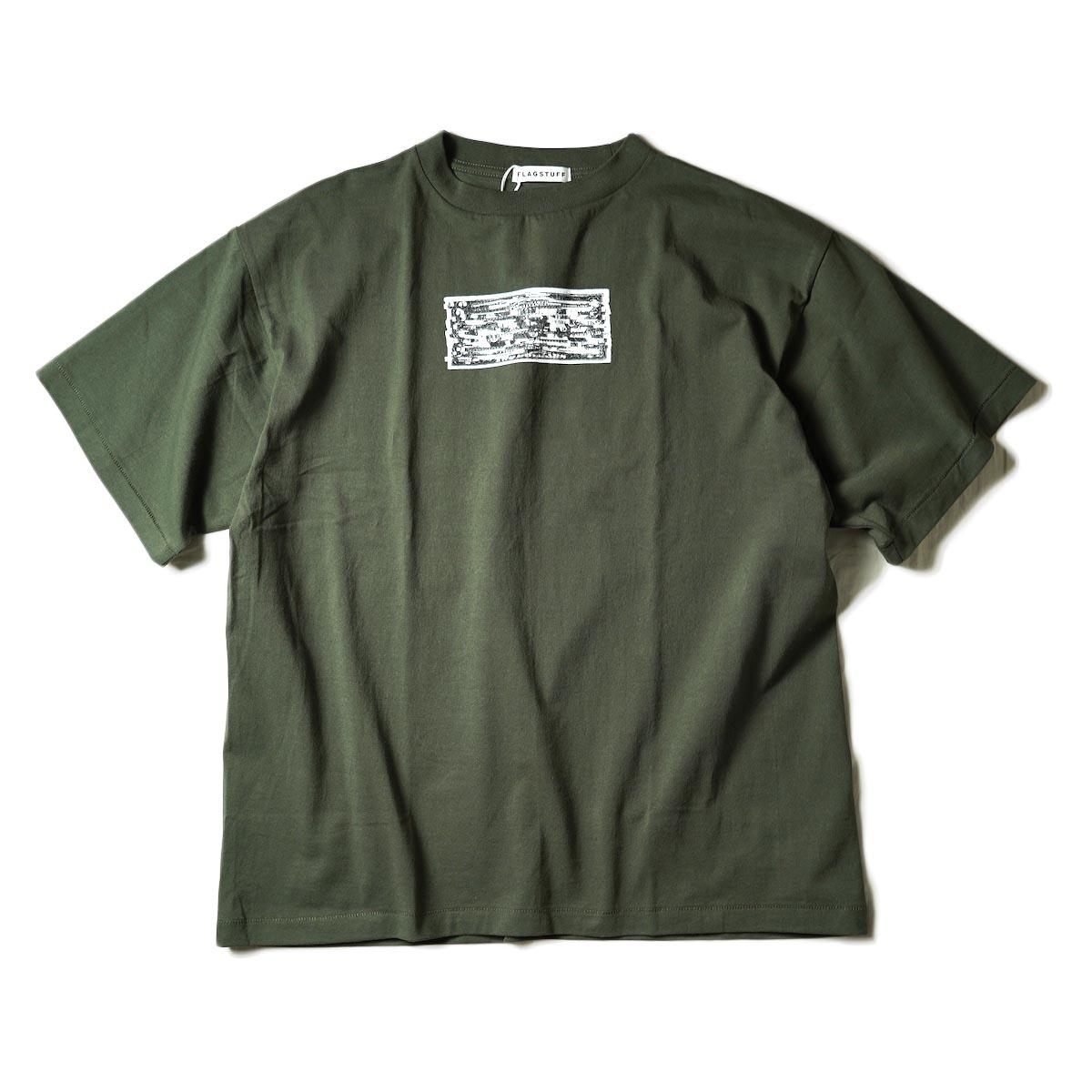 "F-LAGSTUF-F / ""TWO DOLLARS"" S/S Tee (Green)"