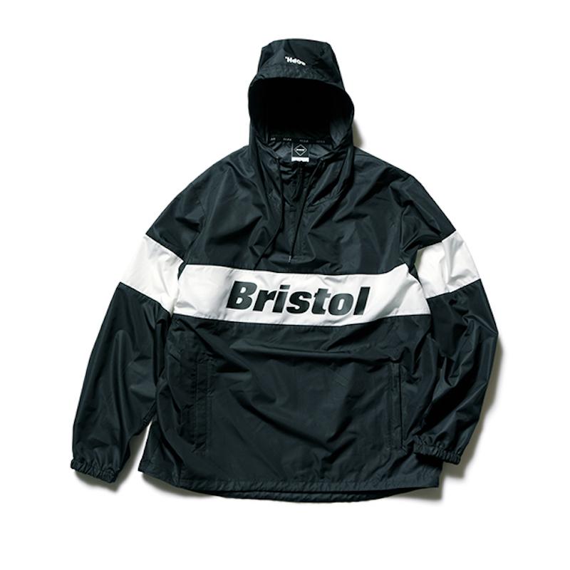 F.C.Real Bristol / COLOR BLOCK ANORAK -BLACK
