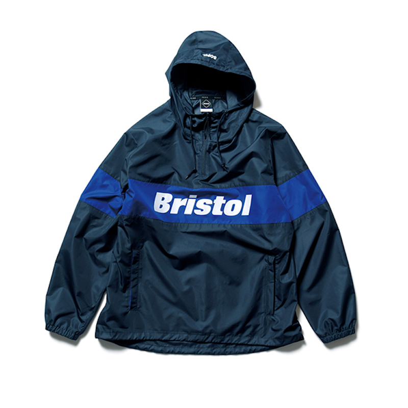 F.C.Real Bristol / COLOR BLOCK ANORAK -NAVY