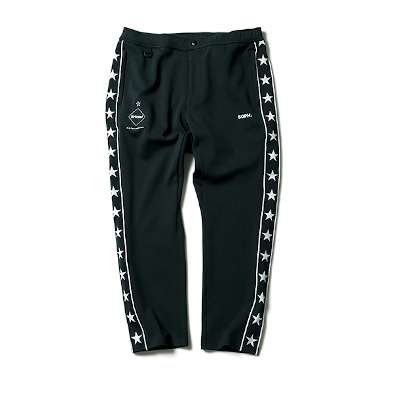 F.C.Real Bristol / STAR LINE TRAINING CROPPED PANT -BLACK