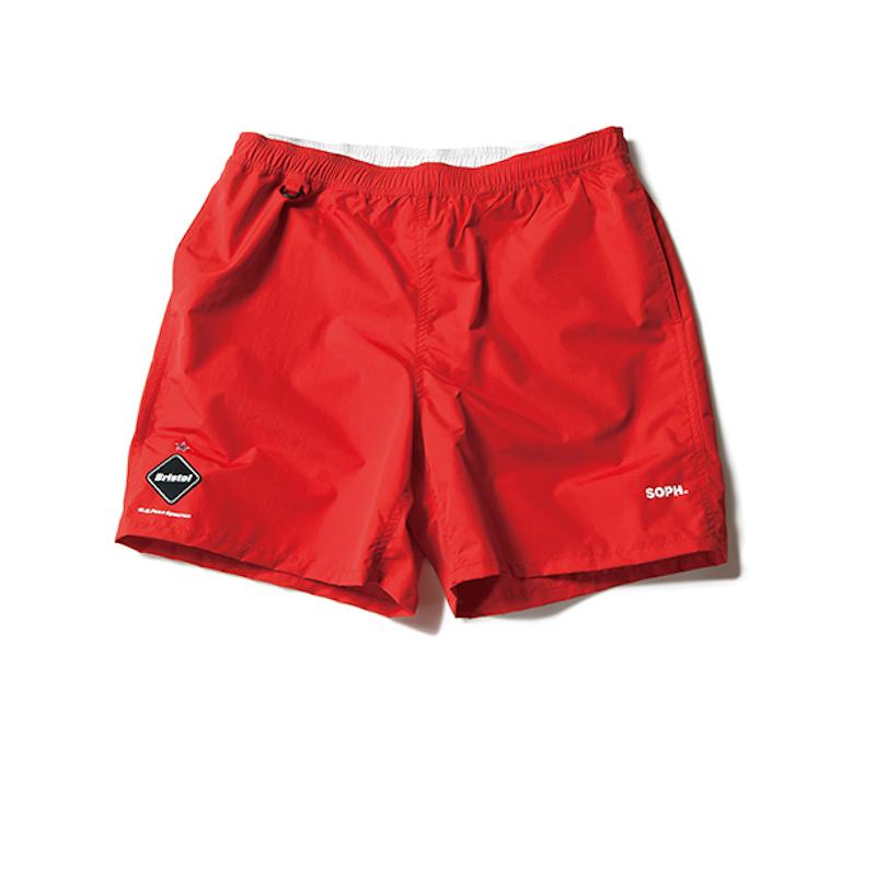 F.C.Real Bristol / NYLON EASY SHORTS -RED