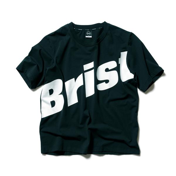 F.C.Real Bristol / BIG LOGO RELAX FIT TEE -black