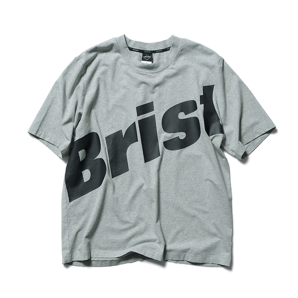 F.C.Real Bristol / BIG LOGO RELAX FIT TEE -gray
