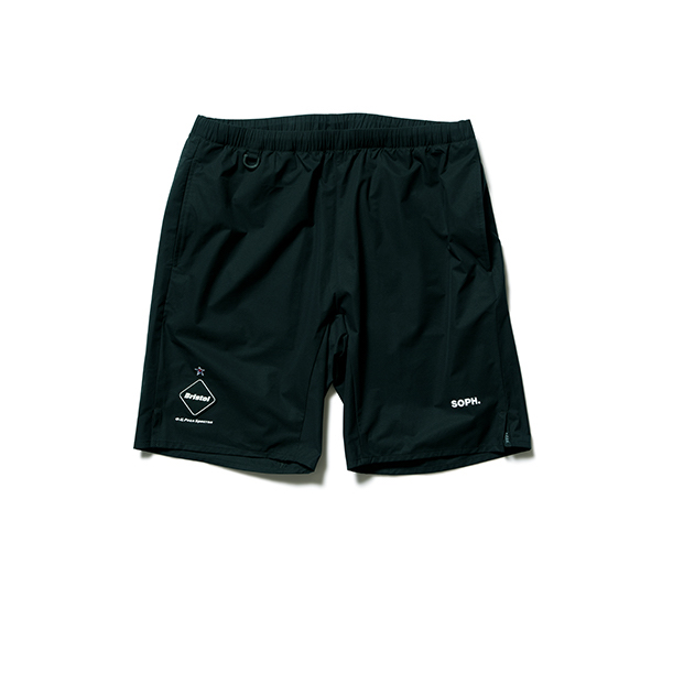 F.C.Real Bristol / STRETCH LIGHT WEIGHT EASY SHORTS -black